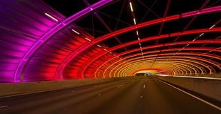 Tullamarine Freeway Sound Tube Architectural Lighting Project